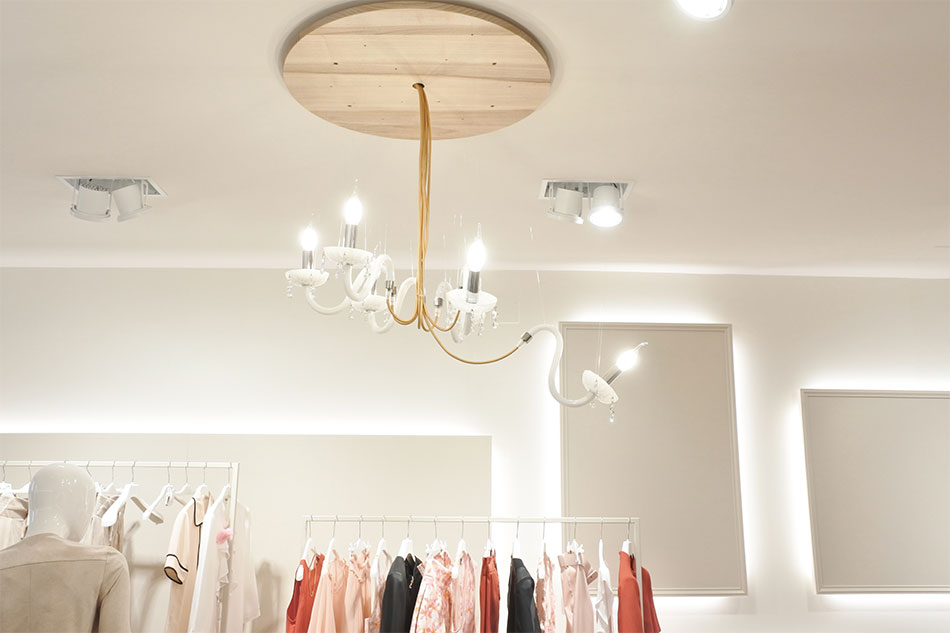 boutique lampadario