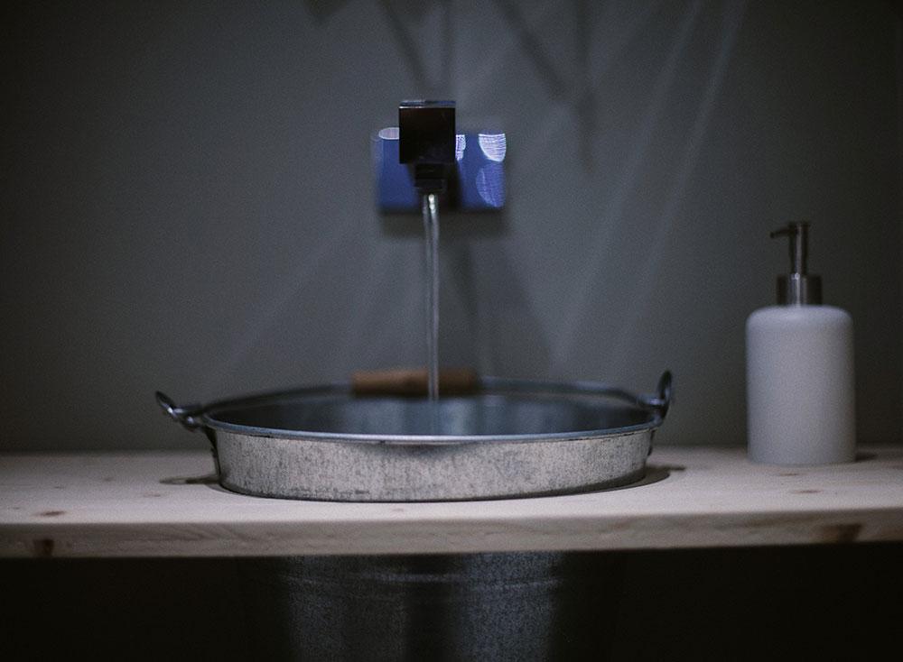caffè del borgo lavandino bagno